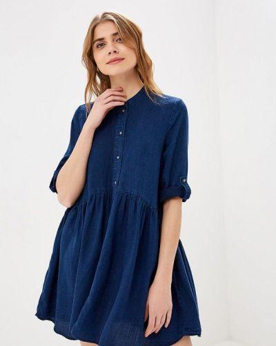 Джинсовое платье весеннее 2019 Only