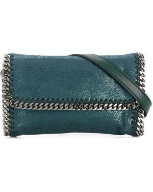 Ремень зеленый кожаный Stella Mccartney