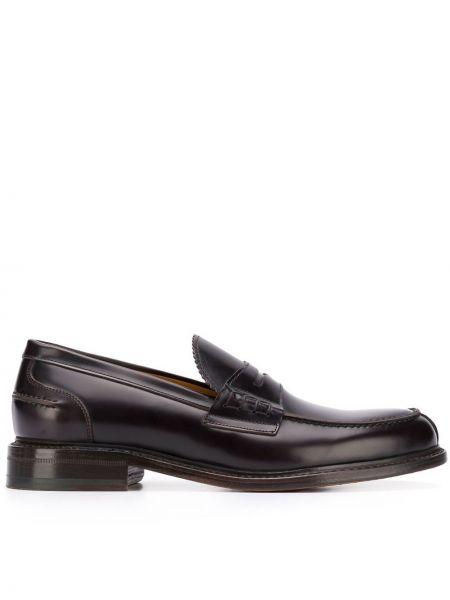Кожаные туфли классические коричневый Berwick Shoes