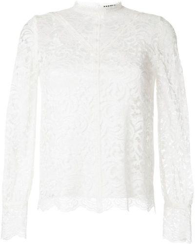 Блузка кружевная белая Loveless