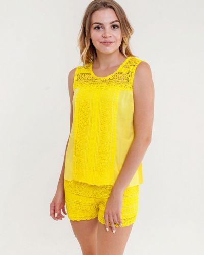 Желтое платье Mia-amore