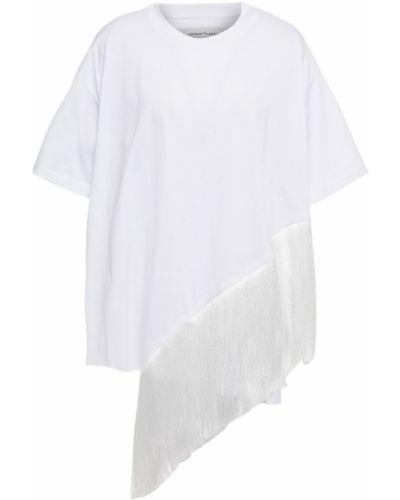 Biały t-shirt bawełniany Marques Almeida