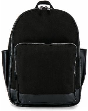 Czarny plecak na laptopa bawełniany Beis