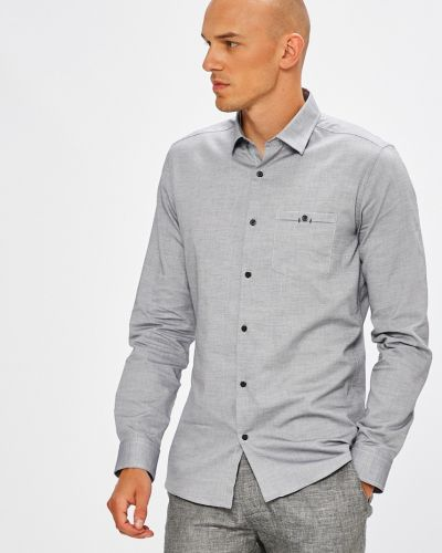 Рубашка с длинным рукавом хлопковая с узором Medicine