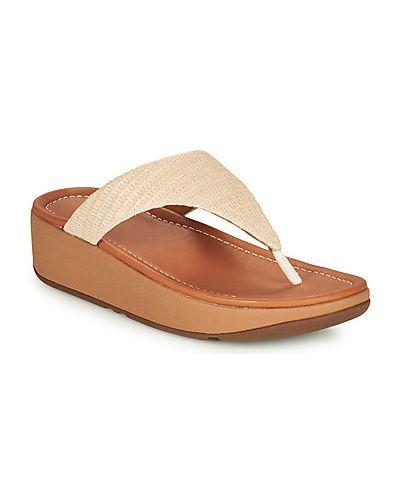 Białe sandały Fitflop