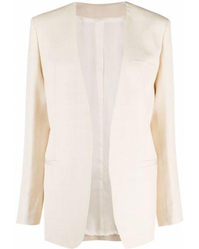 Удлиненный пиджак с карманами с длинными рукавами Toteme