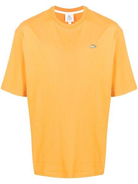 Koszula krótkie z krótkim rękawem z logo prosto Lacoste