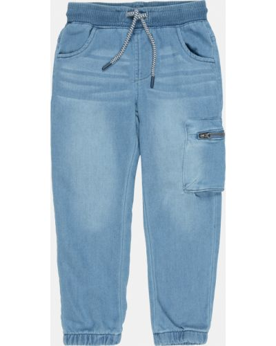 Джинсовые шорты - голубые Coccodrillo