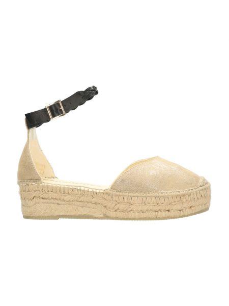 Beżowe sandały Espadrilles