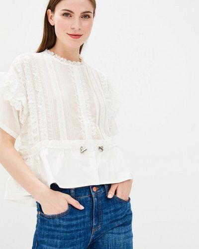 Блузка белая Lusio