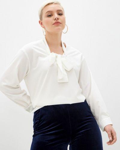 Блузка с бантом - белая Svesta