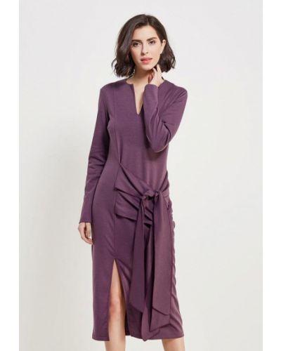 Платье весеннее фиолетовый Adzhedo