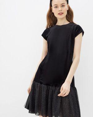 Вечернее платье осеннее черное Forus