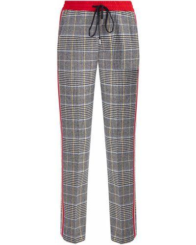 Спортивные брюки с лампасами твидовые Ermanno Scervino