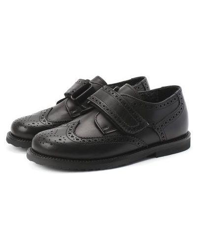Кожаные туфли с подкладкой Rondinella