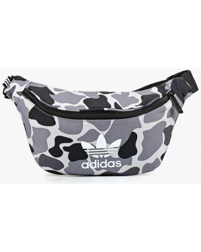 Серая поясная сумка Adidas Originals