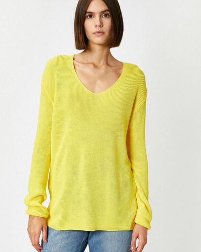 Желтый пуловер Koton