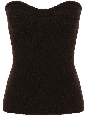 Топ - коричневый Nanushka