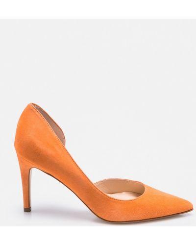 Оранжевые туфли на высоком каблуке Solo Femme
