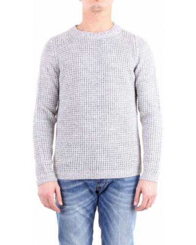 Prążkowany długi sweter z długimi rękawami Bellwood