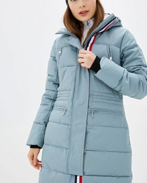 Теплая бирюзовая утепленная куртка Luhta