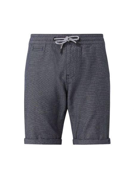 Bawełna bawełna niebieski dżinsowe szorty z kieszeniami Tom Tailor Denim