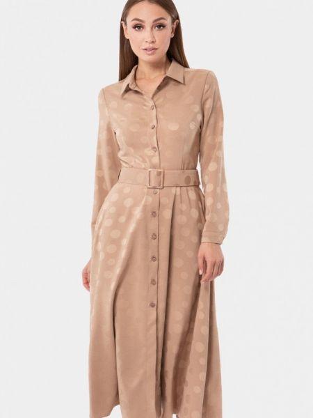 Платье - бежевое Vladi Collection