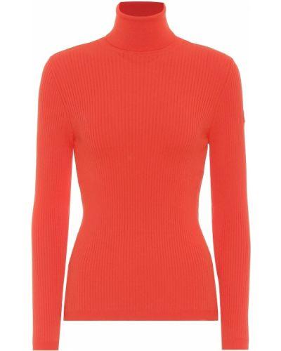 Prążkowany sweter z wiskozy Fusalp