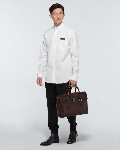 Biała włoska koszula Berluti