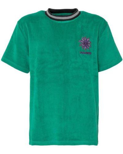 Zielony t-shirt Pleasures