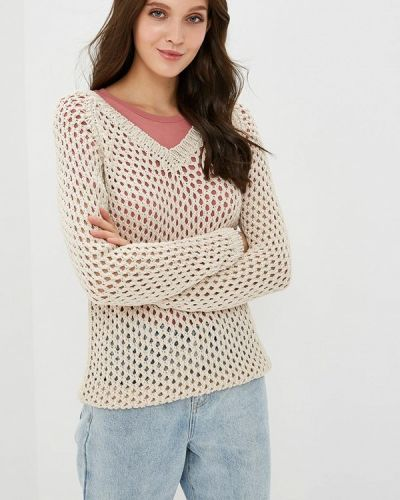 Бежевый весенний пуловер Marytes