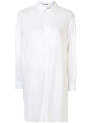 Блузка оверсайз - белая Yohji Yamamoto