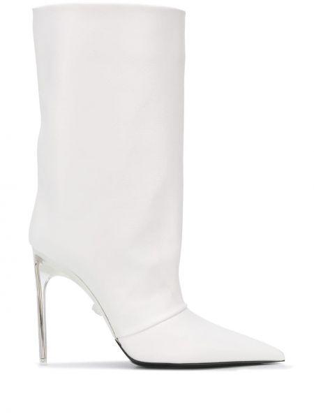 Wysoki buty na obcasie na pięcie Versace