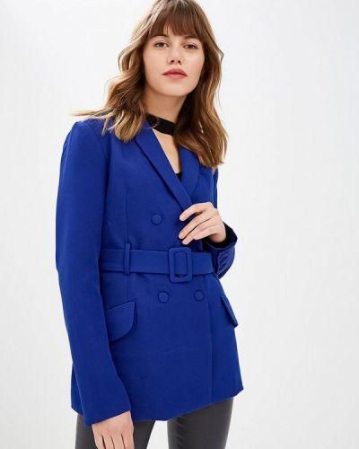 Синий пиджак осенний Lost Ink.