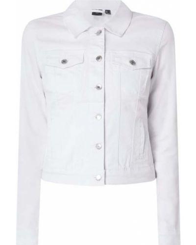 Bawełna bawełna kurtka jeansowa z kołnierzem Vero Moda