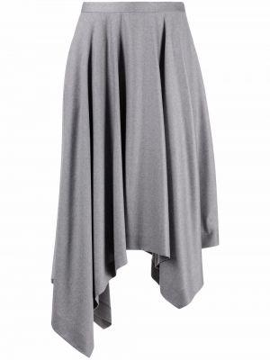 Серая юбка с карманами Fabiana Filippi