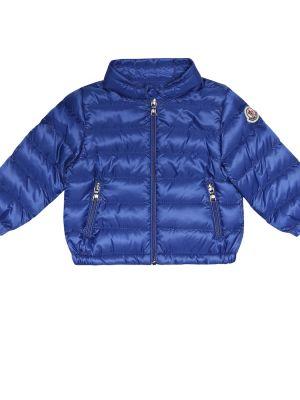 Стеганое пальто био пух пальто Moncler Enfant