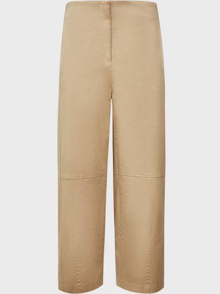 Хлопковые брюки - коричневые Sfizio