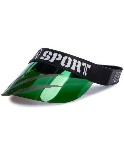 Zielony daszek Plein Sport
