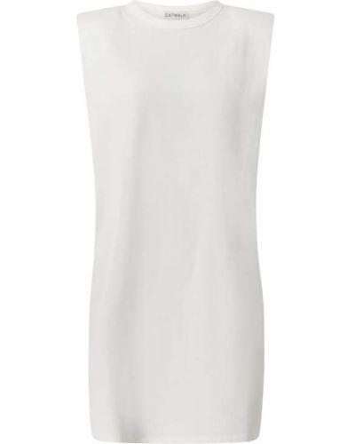 Biała sukienka bawełniana Catwalk Junkie