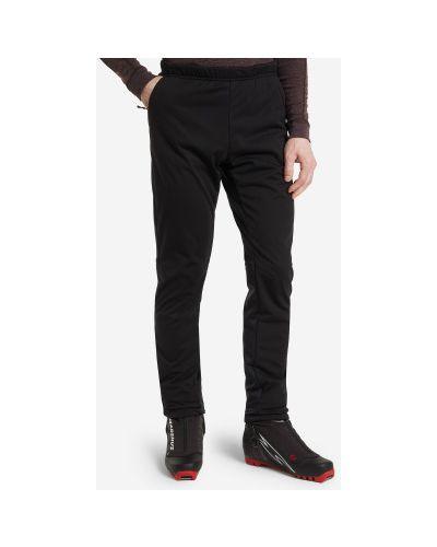 Черные брюки софтшелл для бега Madshus