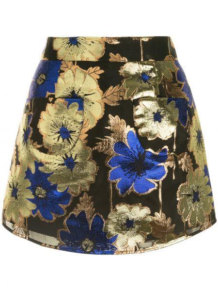 Нейлоновая черная с завышенной талией юбка Alice Mccall