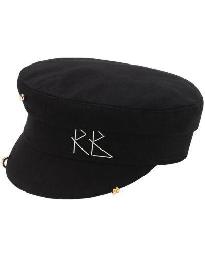 Хлопковая кепка - черная Ruslan Baginskiy