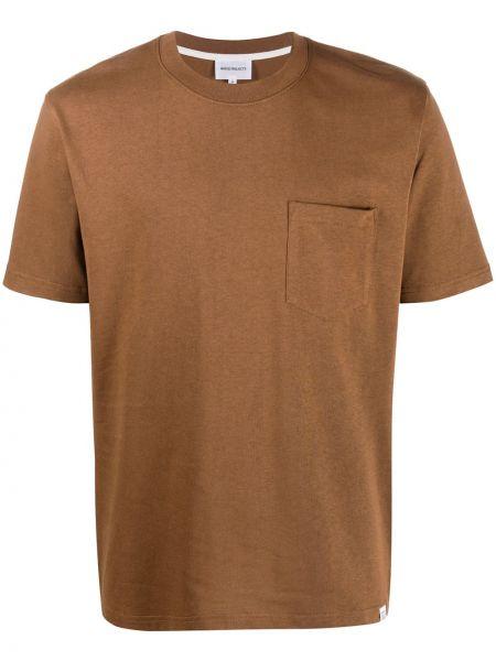 Koszula krótkie z krótkim rękawem prosto z kieszeniami Norse Projects