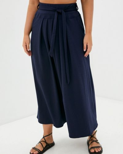 Синяя юбка осенняя Malena