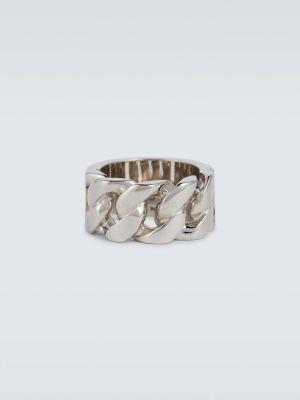 Łańcuch ze srebra srebrny Alexander Mcqueen