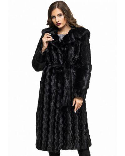 Черная шуба Grand Furs