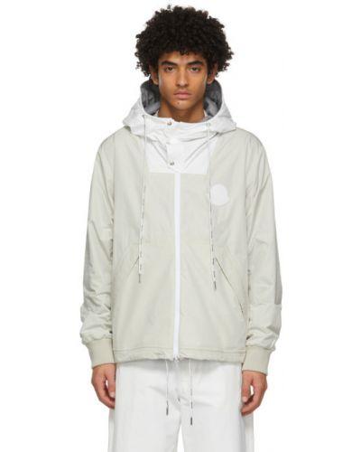 Długa kurtka, biały Moncler
