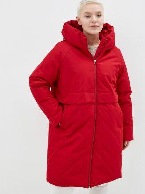 Утепленная куртка - красная Modress