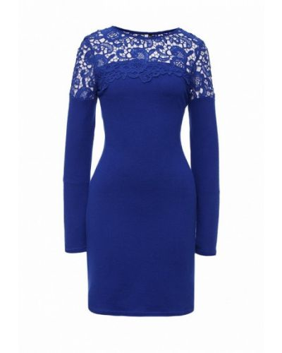 Синее платье осеннее Angeleye London